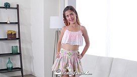 CastingCouch-X - Casting agent fucks little teen Sally Squirt
