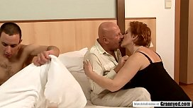 Daddy Catches Son Masturbating so Why not have a Foursome right away? - Margo T., Eodit
