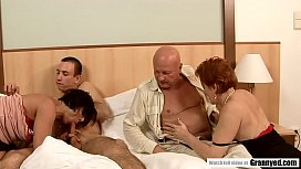 Daddy Catches s. Masturbating so Why not have a Foursome right away? - Margo T., Eodit