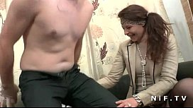 Amateur french couple first time anal casting couch