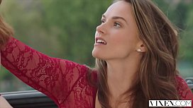 VIXEN Tori Black and Her Husband Treat Themselves To A Beautiful Teen In Paris