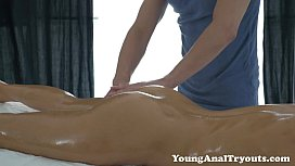 Young Anal Tryouts - The kissing made way to anal
