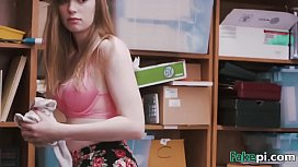 Young shoplifter Dolly Leigh...