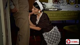 Maid sexually indulges his...
