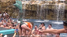 Wildest pool party ever...