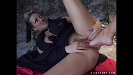 Mandy Bright gets her...