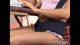 Adorable young blonde gal Cindy gets access to a dick