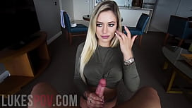 HANDJOB and CUMSHOT BY...
