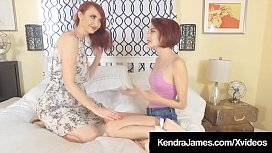 Hot Perv Aunt Kendra James Pussy Fucks Little Niece Lola Fae