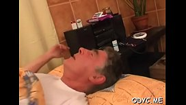 Playsome Kate with large natural tits bounces on dink
