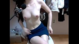 Korean webcam girl show...