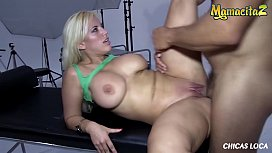 MAMACITAZ - BIG ASS Latina Blondie Fesser Goes Wild In Public Places With Kinky Guy