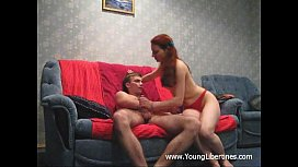 Great hookup with redhead...