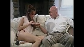Nice tits Asian honey Kiki Morgan gets pussy licked on couch and is fucked by cock