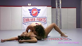 Daisy Ducati battles Victoria Voxxx eating pussy and using a strapon