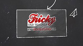 Tricky Old Teacher - Babe shows her sex talents on practice