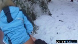 Dirty Flix - Snowboarder chick...