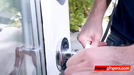 Breaking in and entering private property for a hot fuck