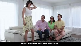 FamilyStrokes - Hot Teen Gets...