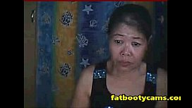 Asian Granny wants her Ass Filled - fatbootycams.com