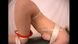 Blonde gets her thighs...