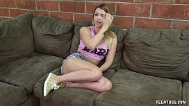 Hot Teen Bimbo Handjob...