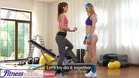 FitnessRooms Hot babes having...