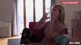 LETSDOEIT - Czech Babe Angel Piaff Turns Horny With Her Toy