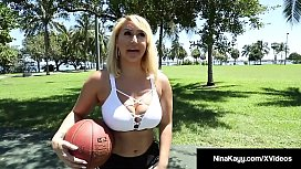 PAWG Nina Kayy Plays...