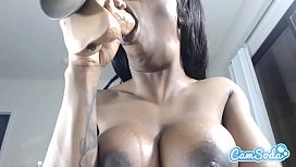 Sarah Banks HOT EBONY...