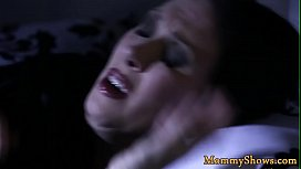 Glamorous stepteen pussylicked by milf