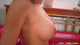 Busty Czech Has Wet...
