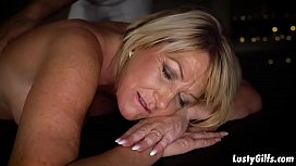 Hottie Milf Amy gets all nasty and slutty for a young stud