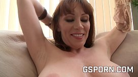 Hot mature milf is happy with a big cock in her pussy