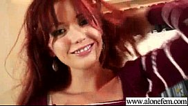 (veronica) Hot Alone Girl Play With Things Till Climax video-28