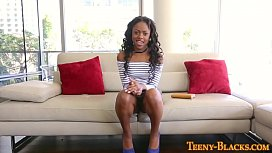 Ebony teen pov riding...