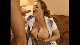 Busty german Valerie de Winter fucked by a young guy