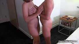 Amateur milf fucks for...