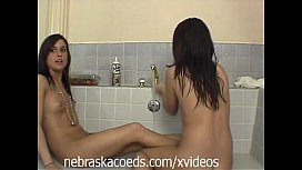 Petite Tanned teen College...