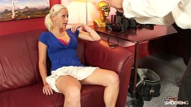 FakeShooting Super hot blonde...