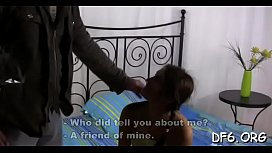 Virgin beauty plays with...