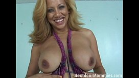 blonde mom with huge tits  fucked