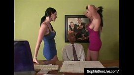 Office Sluts Sophie Dee...