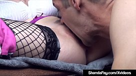 Hot Housewife Shanda Fay Gets Hubby To Lick His Creampie!