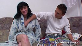 Busty Mother Fucking Son...