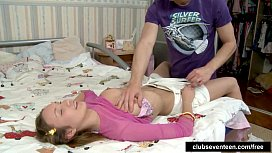 Kinky teen gets nailed...