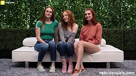 3 Redheads and One...