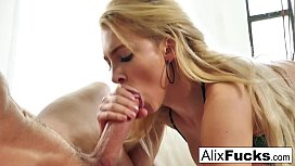 Alix Lynx slobbers all...