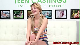Gagging teen hardfucked at...