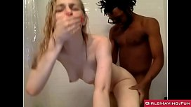 Interracial Amateur Couple in...